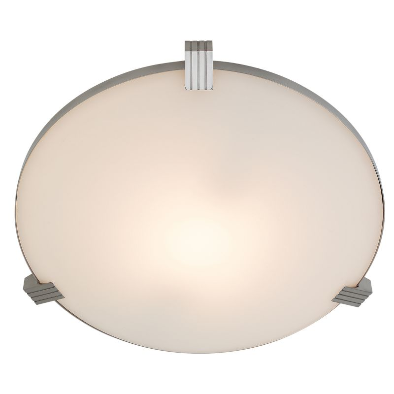 Access Lighting 50069-CFL Luna 2 Light Flush Mount Ceiling Fixture