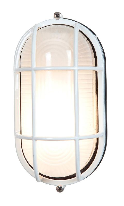 Access Lighting 20292 Nauticus Single Light Outdoor Wall Sconce White