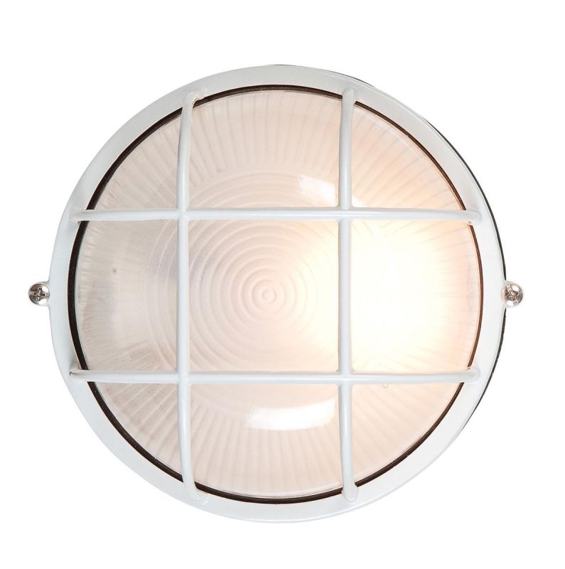 Access Lighting 20296 Single Light Outdoor Wall Sconce from the Sale $38.40 ITEM: bci811886 ID#:20296-WH/FST UPC: 641594398144 :