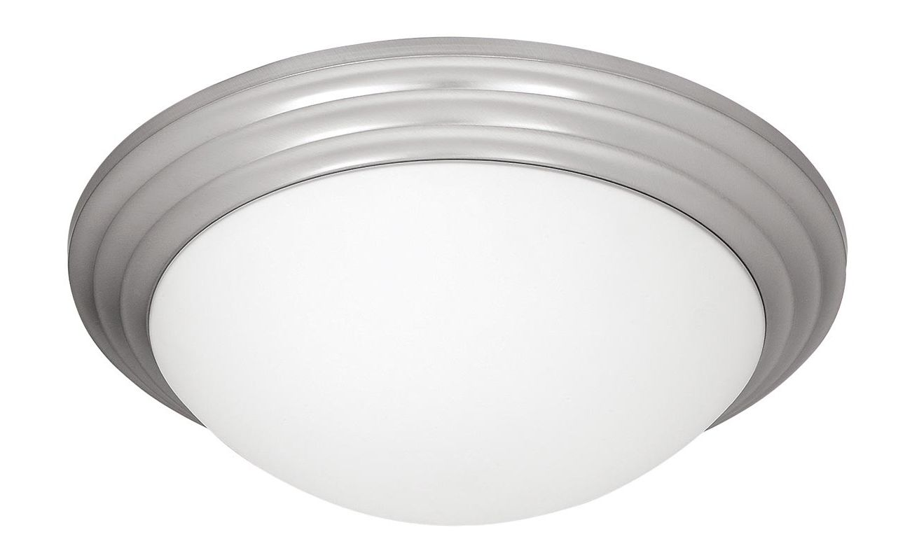 Access Lighting 20652-BS/OPL Steel Contemporary Strata Ceiling Light