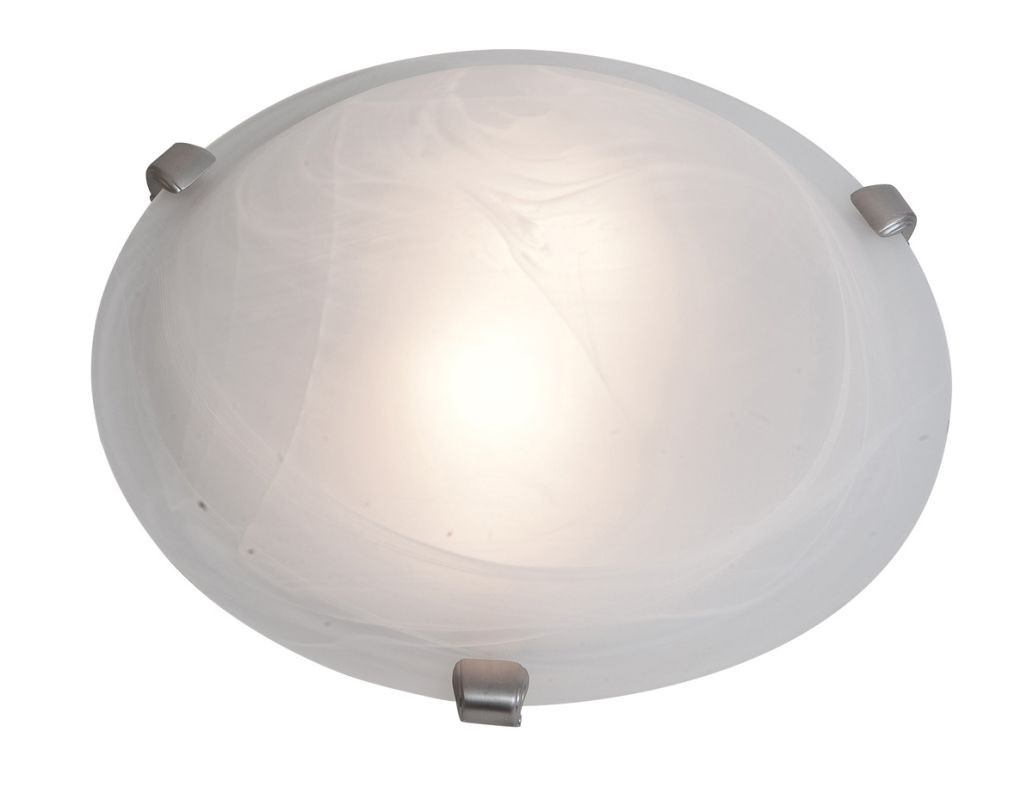 Access Lighting 23019-BS/ALB Steel Contemporary Mona Ceiling Light