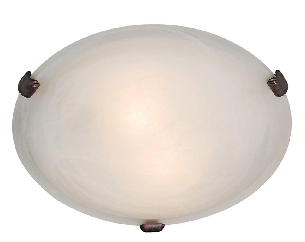 Access Lighting 23019-RU/ALB Rust Contemporary Mona Ceiling Light