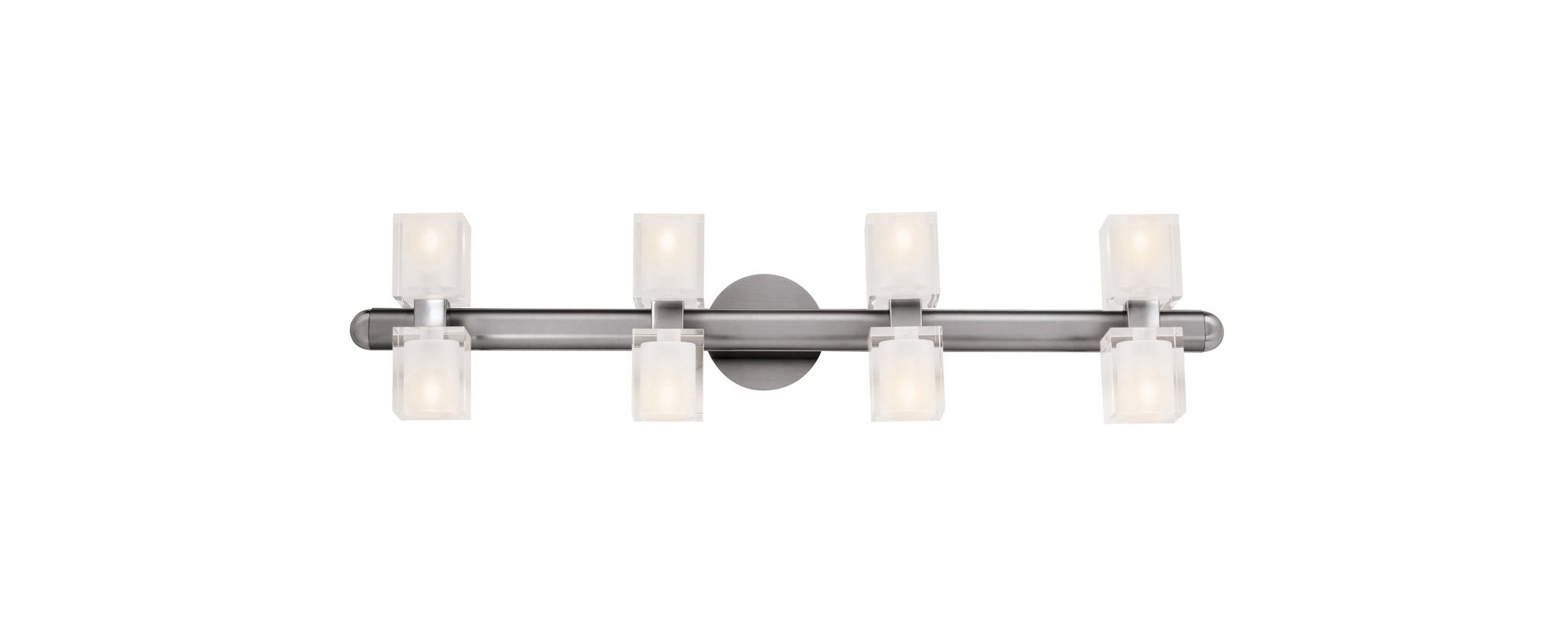 "Access Lighting 23908 Astor 8 Light 34"" Wide Vanity Light with Frosted"