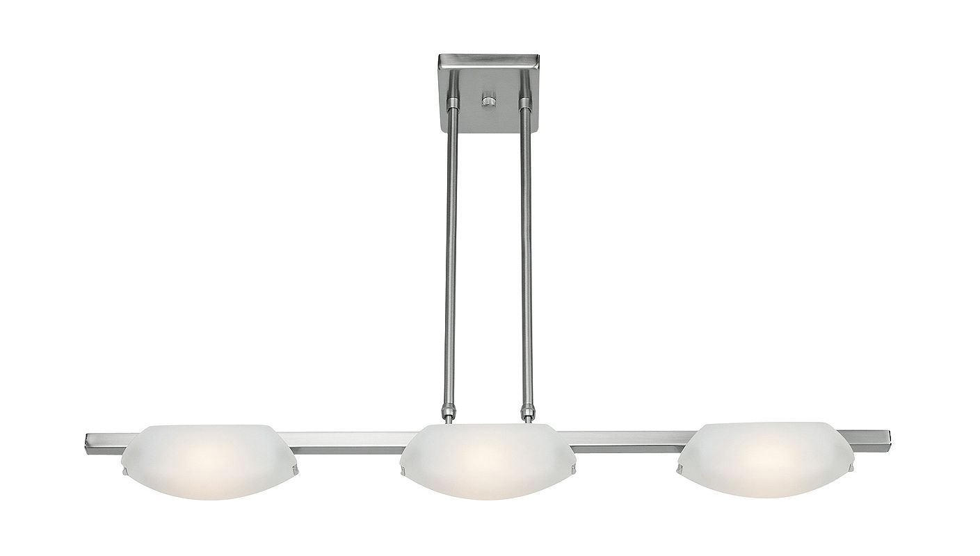 "Access Lighting 63957 Nido 3 Light 32"" Wide Chandelier with Frosted"