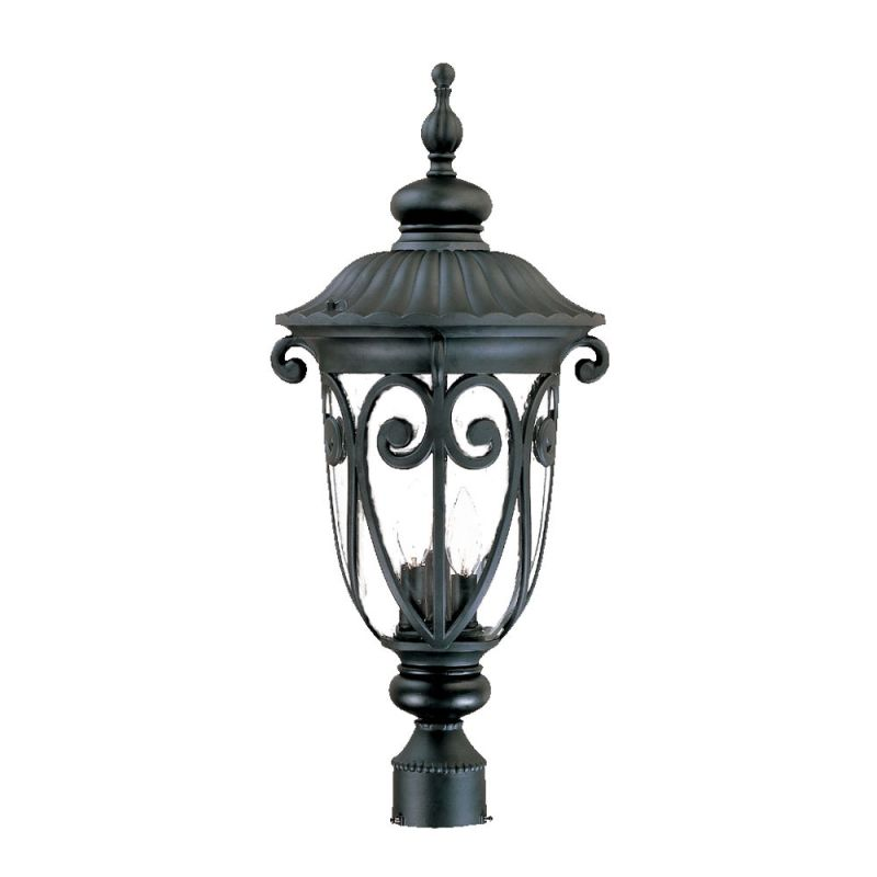 "Acclaim Lighting 2127 Naples 3 Light 25.75"" Height Post Light Matte"