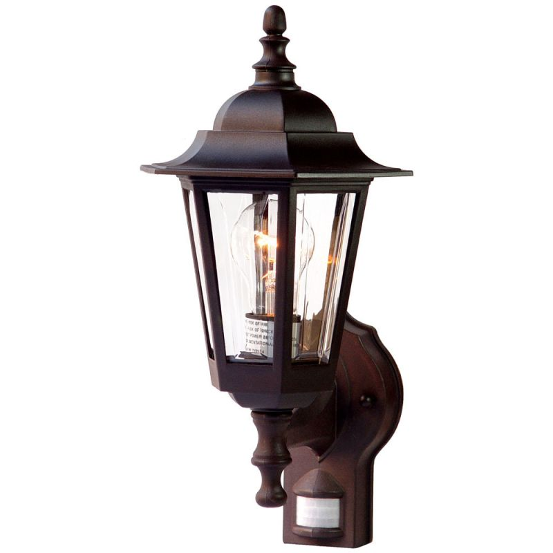 Height Of Wall Lights : Acclaim Lighting 31ABZM Architectural Bronze Tidewater 1 Light 15.25
