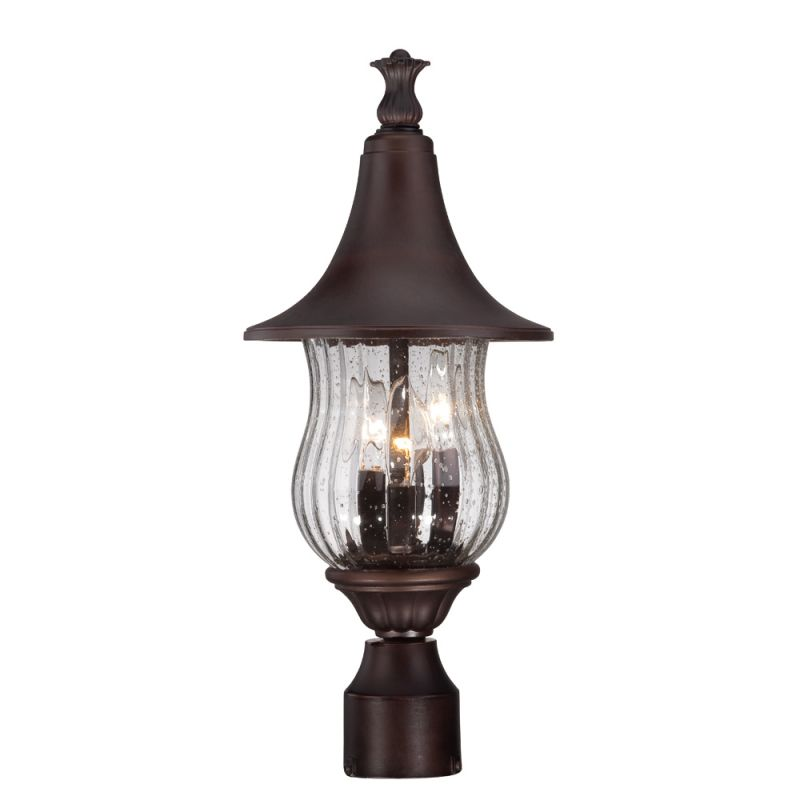 Acclaim Lighting 3407 Del Rio 3 Light Outdoor Post Light with Seedy