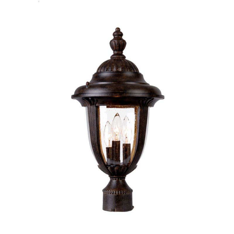 "Acclaim Lighting 3527 Monterey 3 Light 19"" Height Outdoor Post Light"