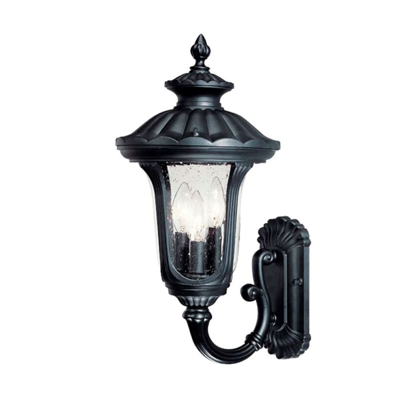 Acclaim Lighting 3851 Augusta 3 Light Outdoor Wall Sconce with Clear