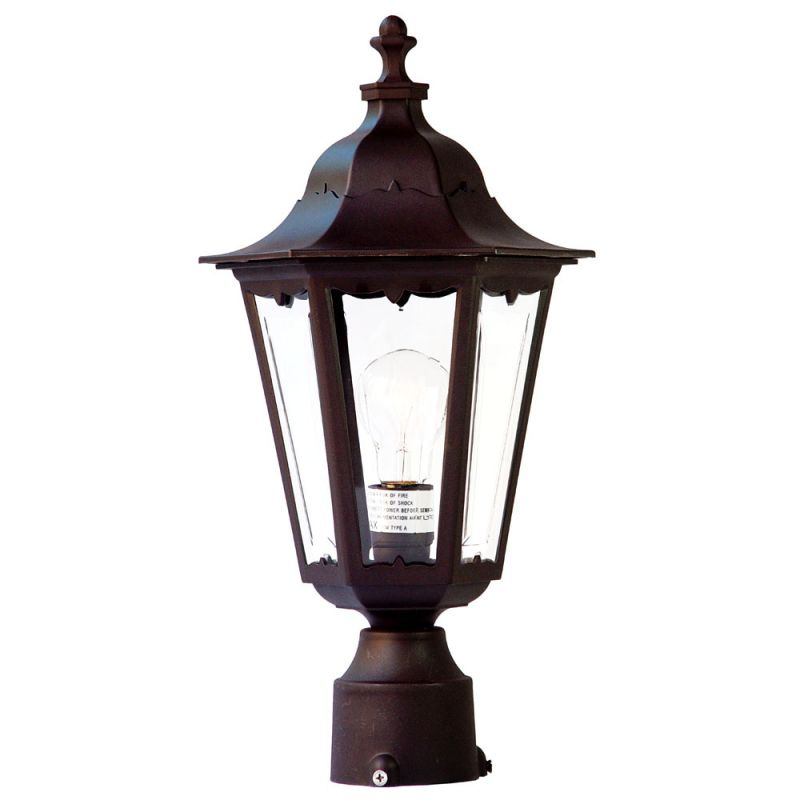 "Acclaim Lighting 47 Tidewater 1 Light 18"" Height Post Light"