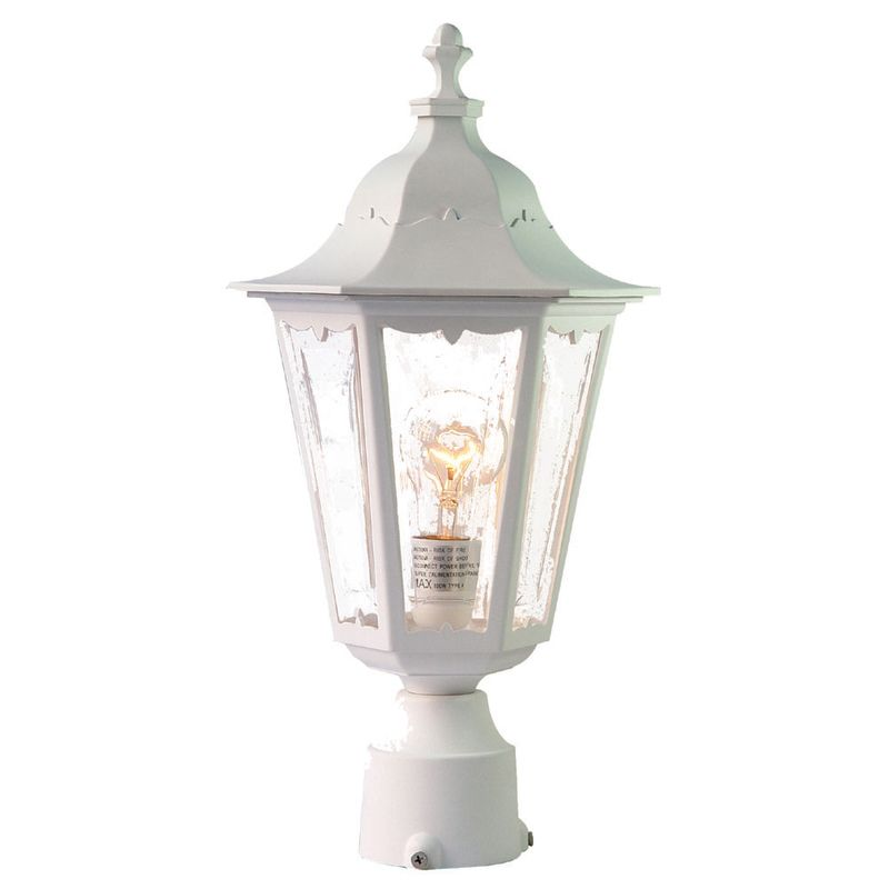"Acclaim Lighting 47 Tidewater 1 Light 18"" Height Post Light Textured"