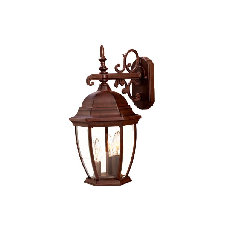 "Acclaim Lighting 5032 Wexford 3 Light 17.5"" Height Outdoor Wall Sconce"