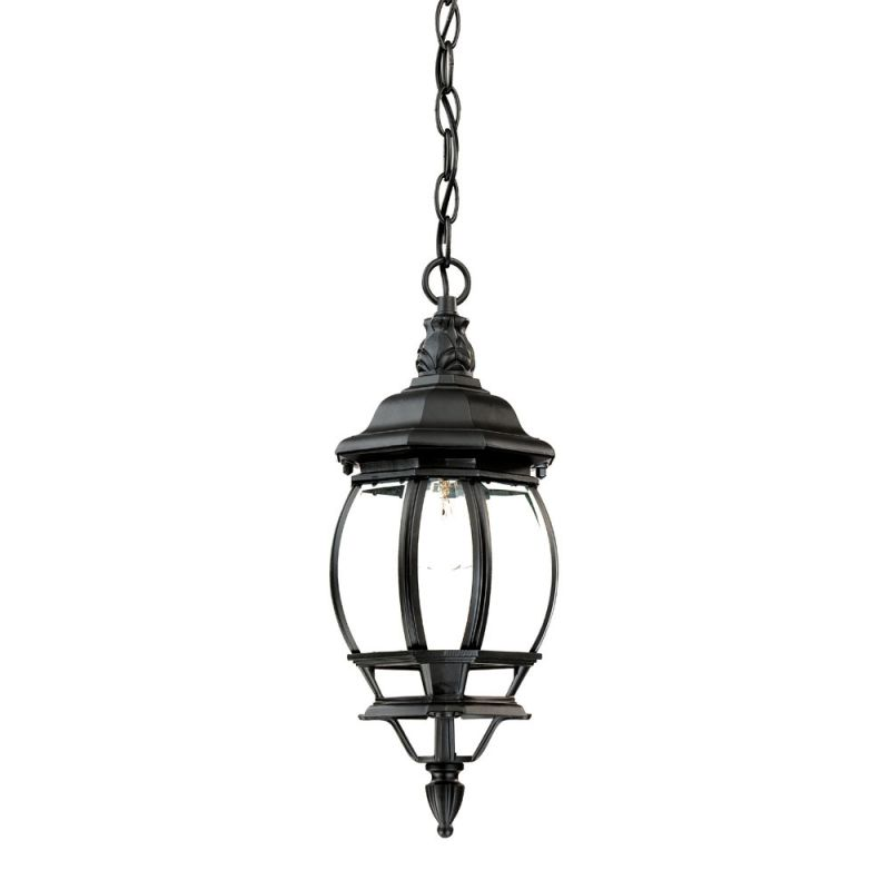 Acclaim Lighting 5056bk Matte Black Chateau 1 Light 17