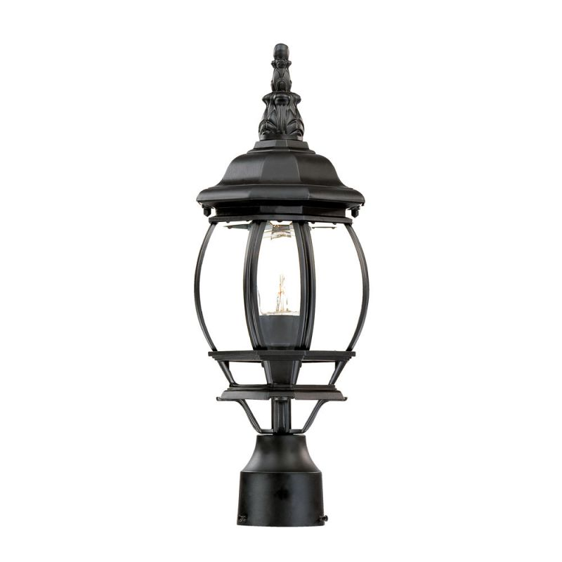 "Acclaim Lighting 5057 Chateau 1 Light 18"" Height Post Light Matte"