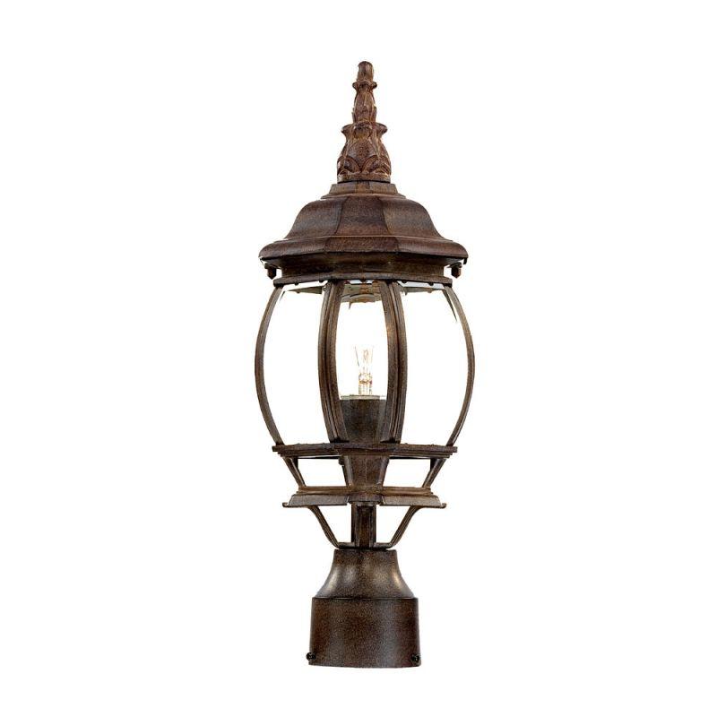 "Acclaim Lighting 5057 Chateau 1 Light 18"" Height Post Light Burled"