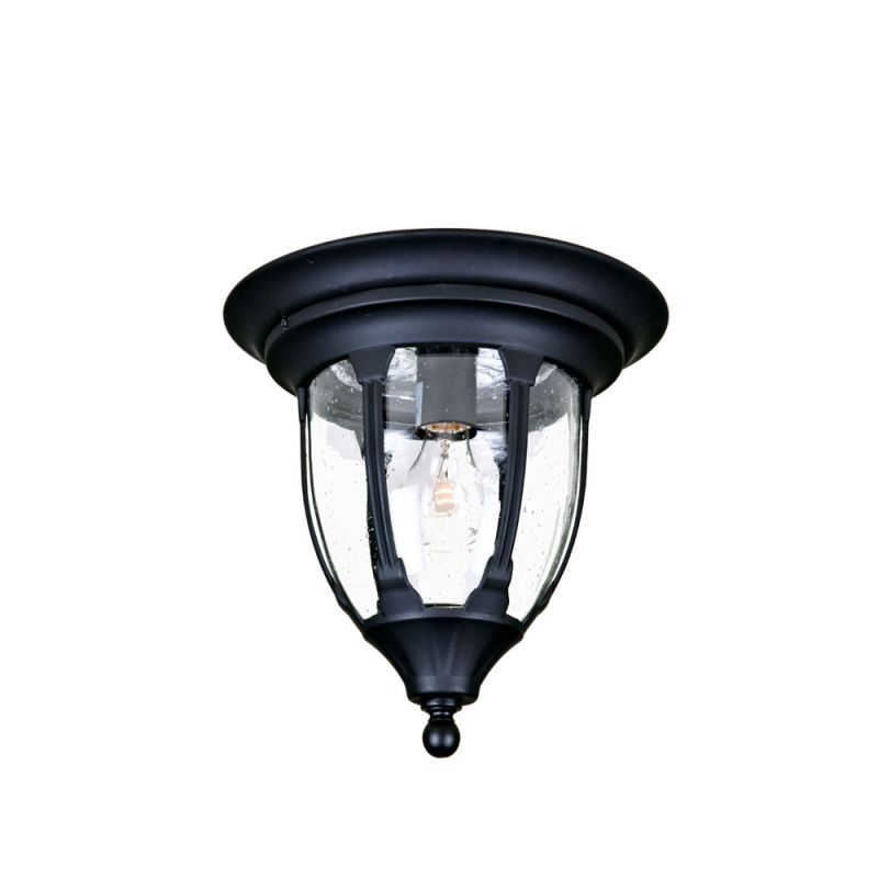 "Acclaim Lighting 5063 Suffolk 1 Light 11"" Width Outdoor Flushmount"