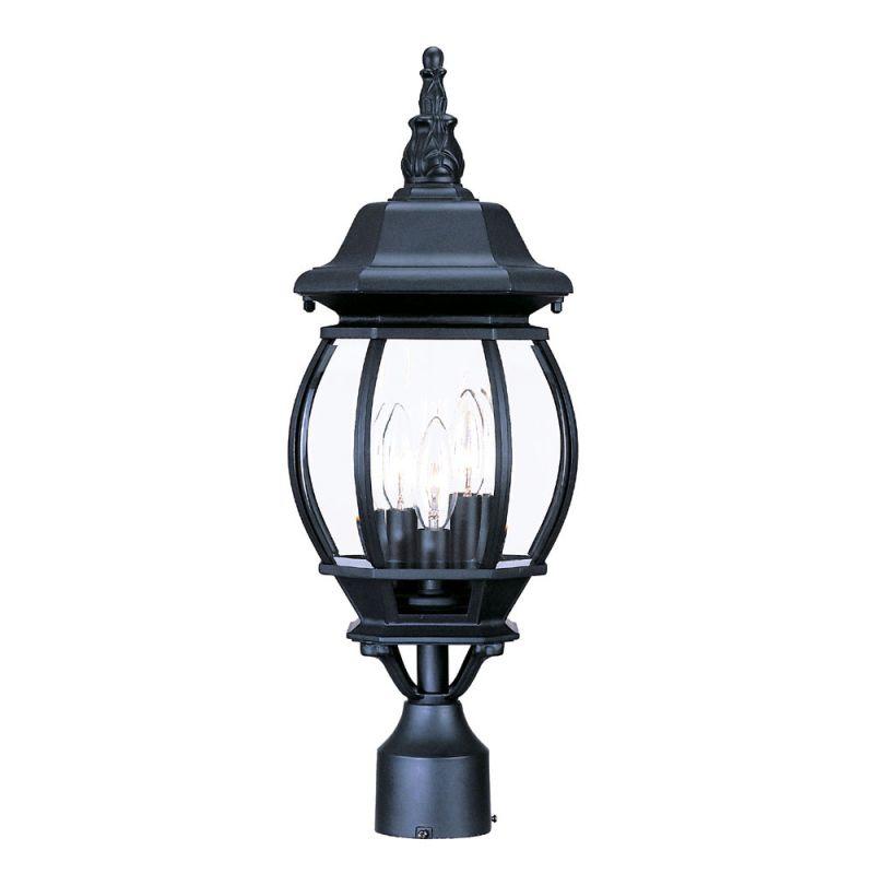 "Acclaim Lighting 5171 Chateau 3 Light 21"" Height Post Light Matte"