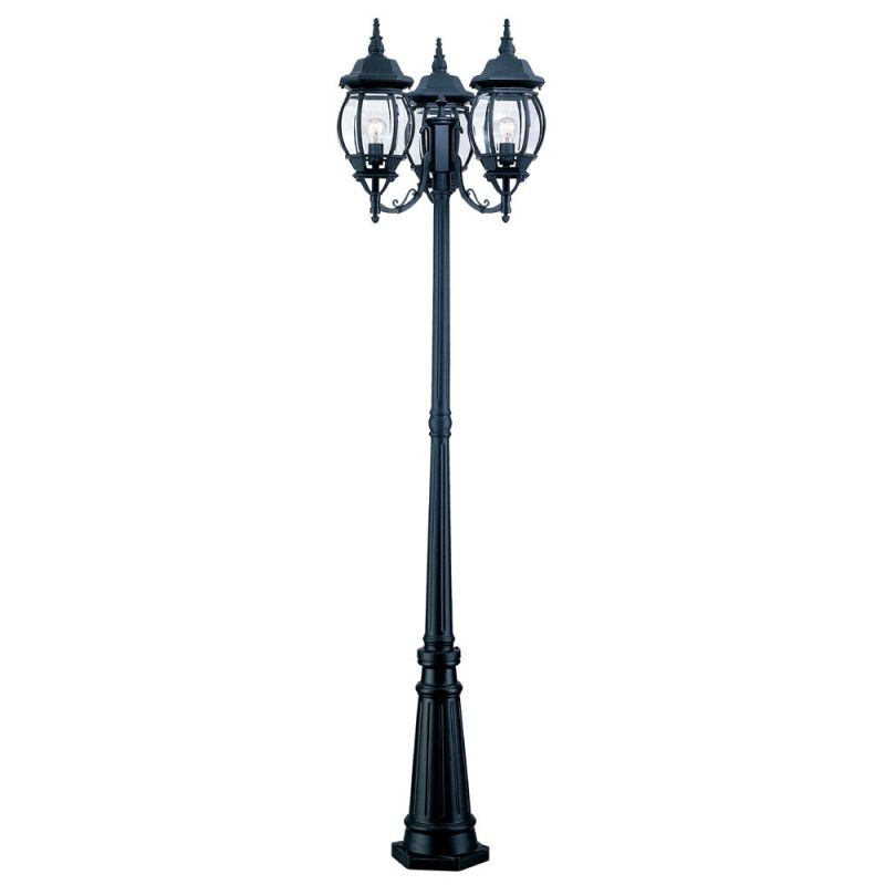 """Acclaim Lighting 5179 Chateau 3 Light 85"""" Height Post Light with Post"""