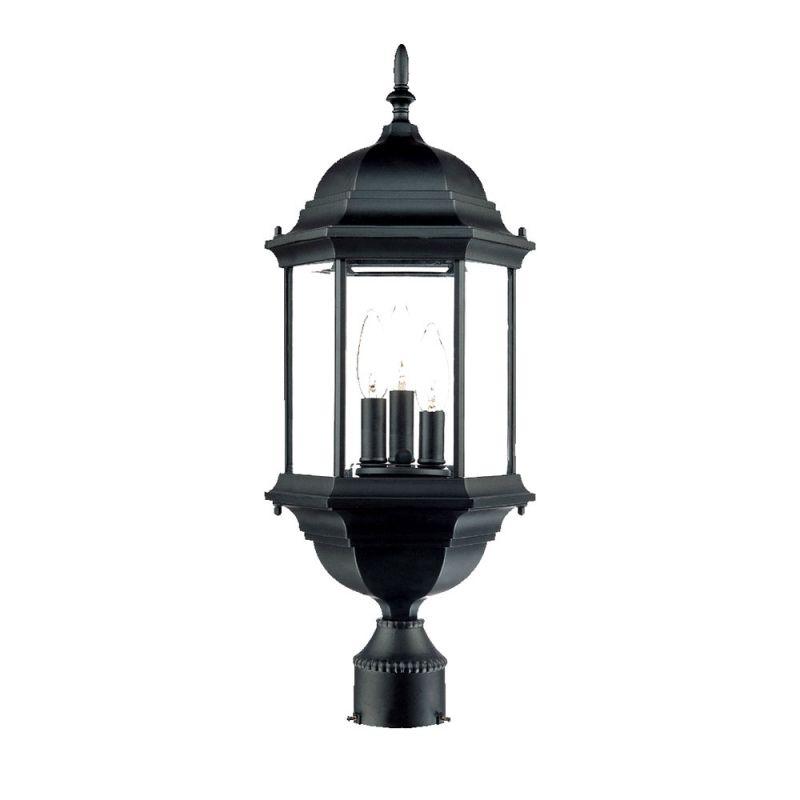 "Acclaim Lighting 5187 Madison 3 Light 25"" Height Post Light Matte"