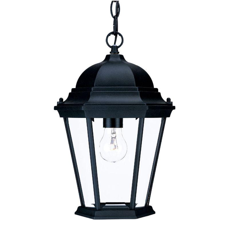 Acclaim Lighting 5206BK Matte Black / Clear Beveled Glass