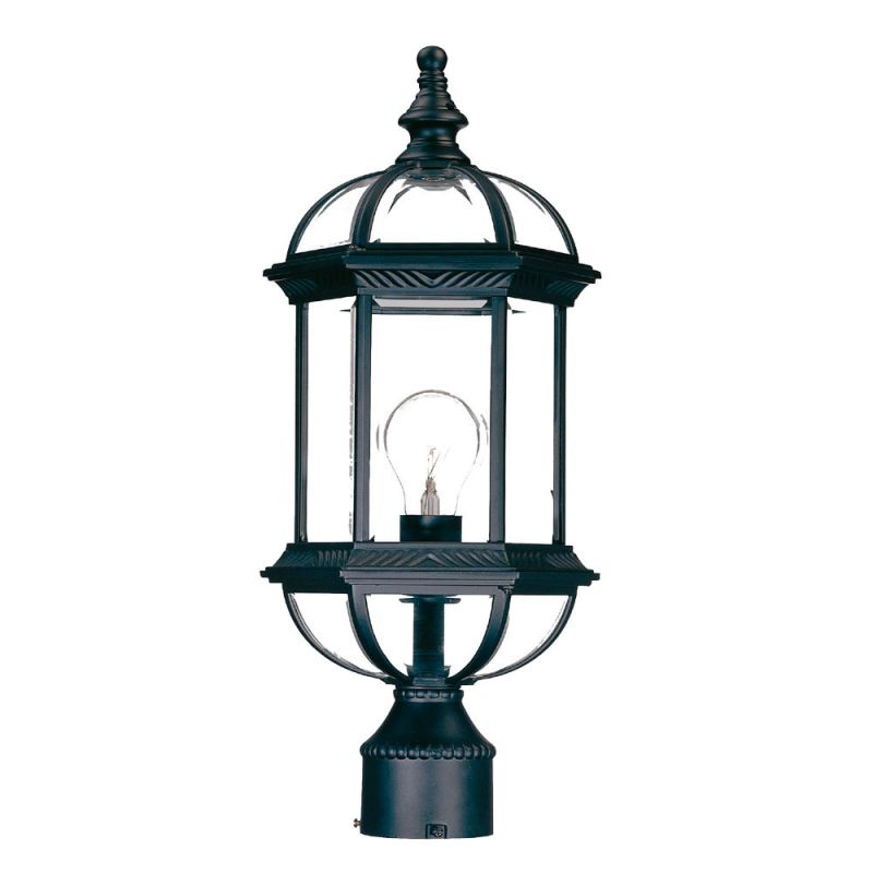 "Acclaim Lighting 5277 Dover 1 Light 19"" Height Post Light Matte Black"