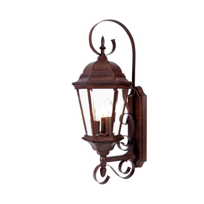 """Acclaim Lighting 5413 New Orleans 3 Light 25"""" Height Outdoor Wall"""