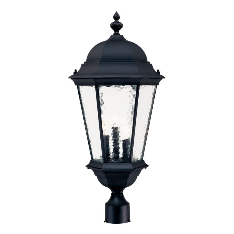 "Acclaim Lighting 5527 Telfair 3 Light 27"" Height Post Light Matte"