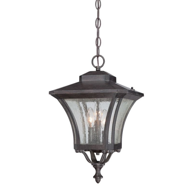Acclaim Lighting 6026 3 Light Outdoor Lantern Pendant Black Coral