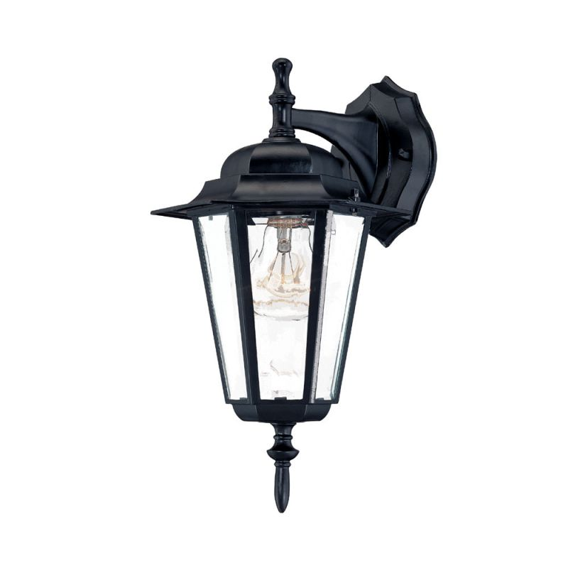 Acclaim Lighting 6102 Camelot 1 Light Outdoor Wall Sconce Matte Black