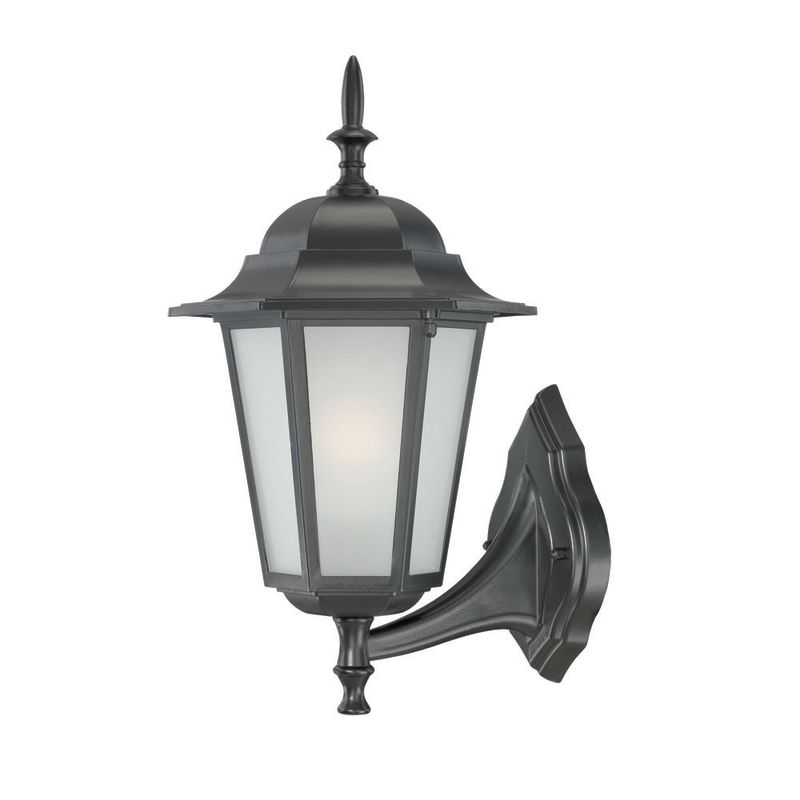 Acclaim Lighting 6111 Camelot 1 Light Outdoor Wall Sconce Matte Black