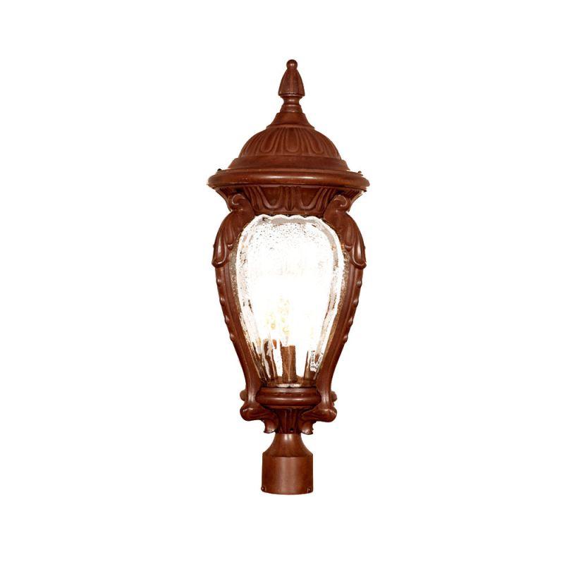 "Acclaim Lighting 7017 Nottingham 4 Light 29"" Height Post Light Burled"