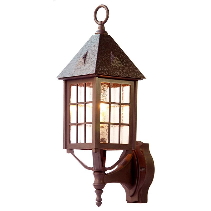 Acclaim lighting 71abz architectural bronze outer banks 1 for Height of sconces