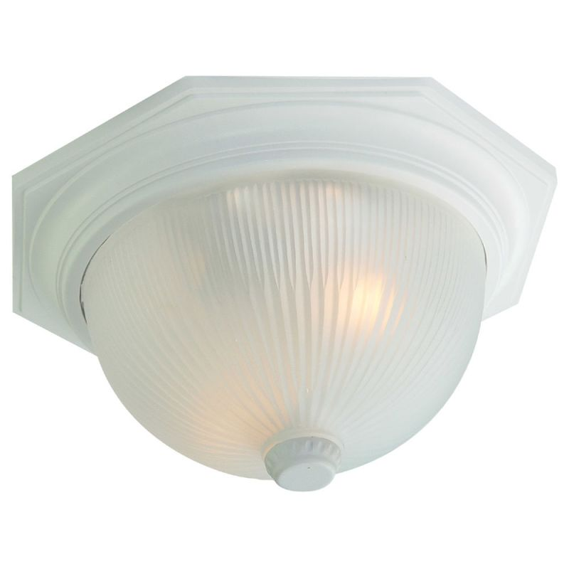 "Acclaim Lighting 75 Outer Banks 2 Light 14"" Width Outdoor Flushmount"