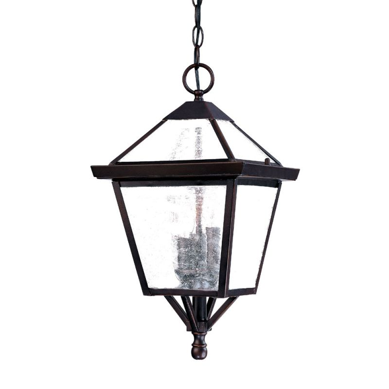 "Acclaim Lighting 7626 Charleston 3 Light 18"" Height Outdoor Pendant Sale $108.00 ITEM: bci2070928 ID#:7626ABZ UPC: 878925000487 :"