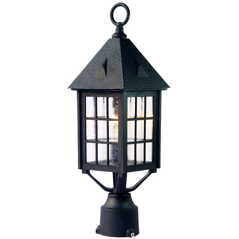 "Acclaim Lighting 77 Outer Banks 1 Light 20"" Height Post Light Matte"