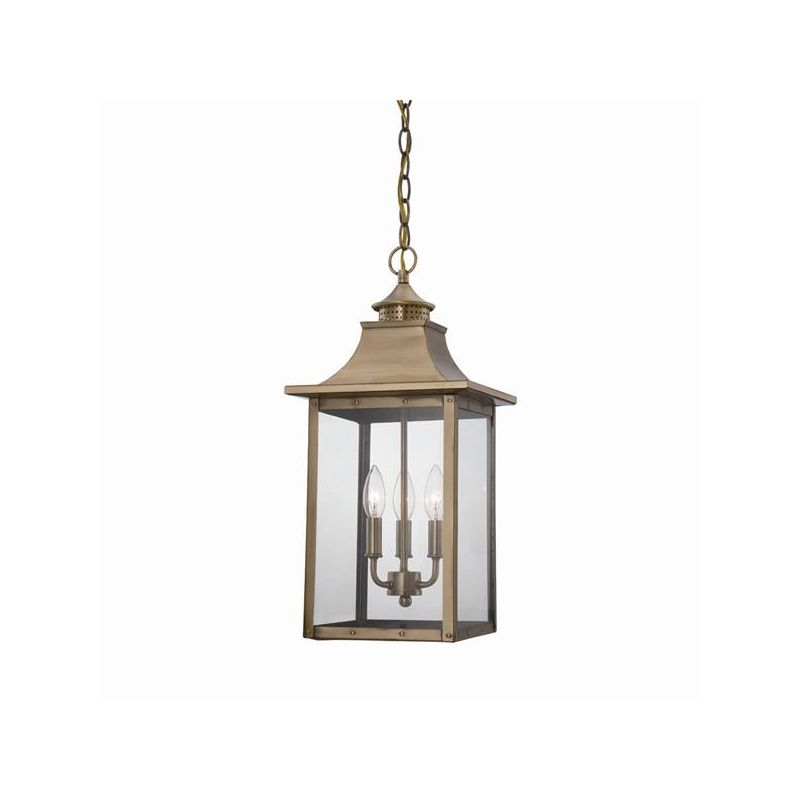 Acclaim Lighting 8316 St. Charles 2 Light Outdoor Lantern Pendant Aged Sale $240.00 ITEM: bci2369103 ID#:8316AB UPC: 878925008025 :
