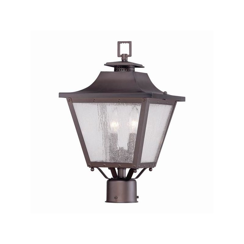 Acclaim Lighting 8717 Lafayette 2 Light Outdoor Post Light with Seedy
