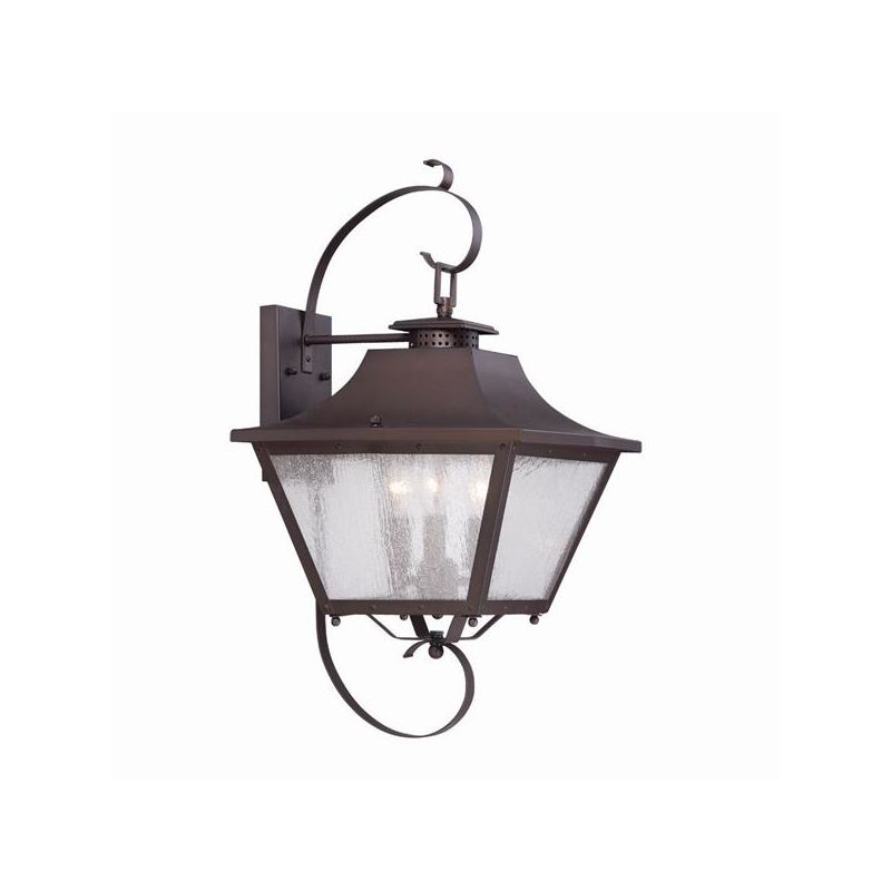 Acclaim Lighting 8722 Lafayette 3 Light Outdoor Lantern Wall Sconce Sale $254.00 ITEM: bci2369078 ID#:8722ABZ UPC: 878925007905 :