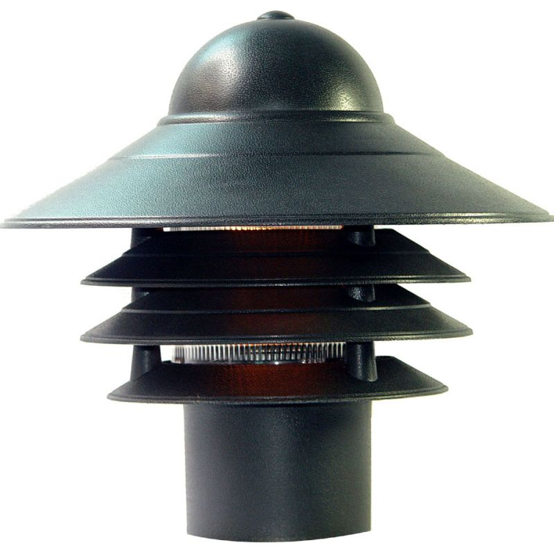 "Acclaim Lighting 87 Mariner 1 Light 10"" Height Post Light Matte Black"