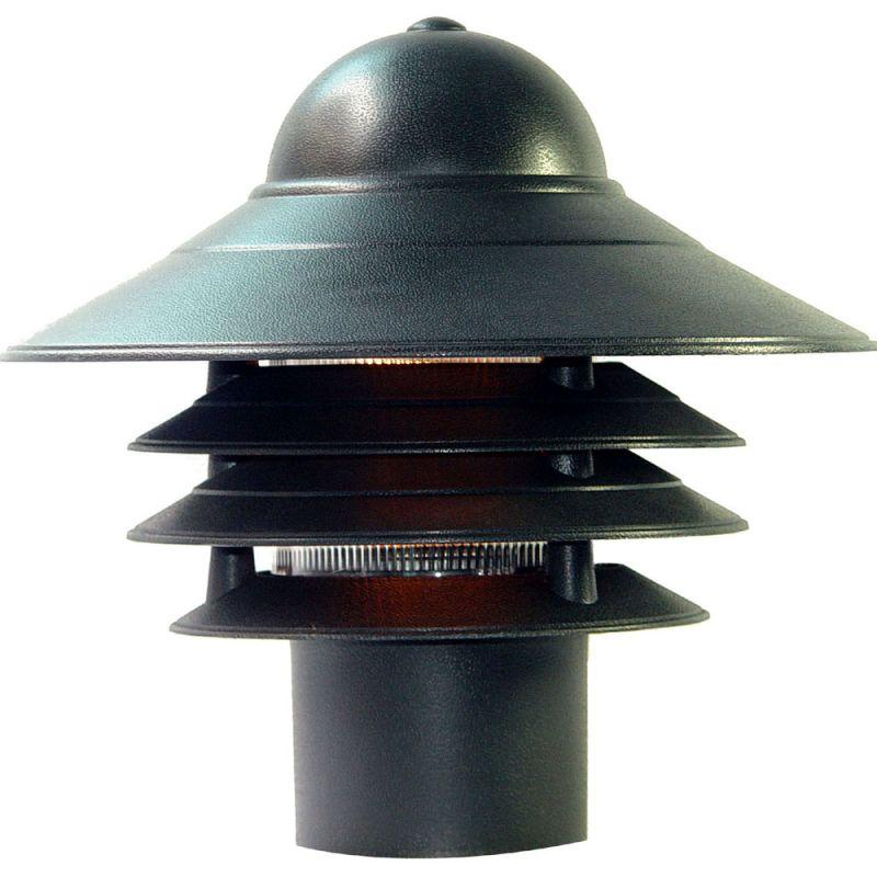 "Acclaim Lighting 87 Mariner 1 Light 10"" Height Post Light Matte Black"