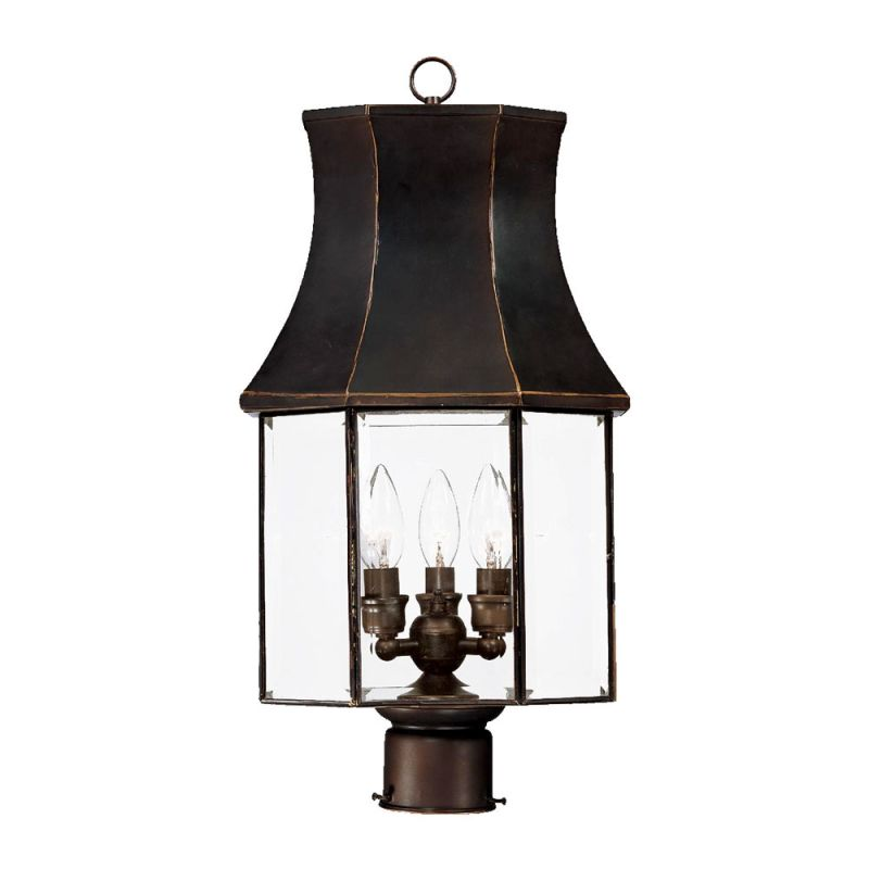 "Acclaim Lighting 8807 Lincoln 3 Light 21.75"" Height Post Light"