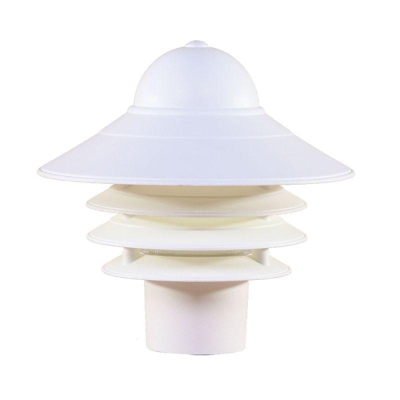 "Acclaim Lighting 88 Mariner 1 Light 10"" Height Post Light Textured"