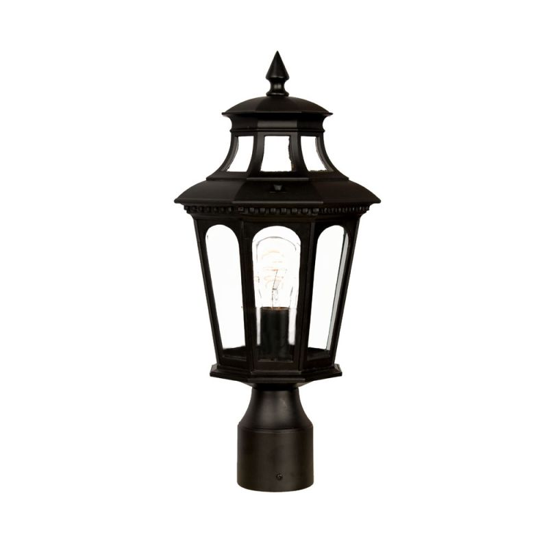 "Acclaim Lighting 9517 Newcastle 1 Light 16.5"" Height Post Light Matte"