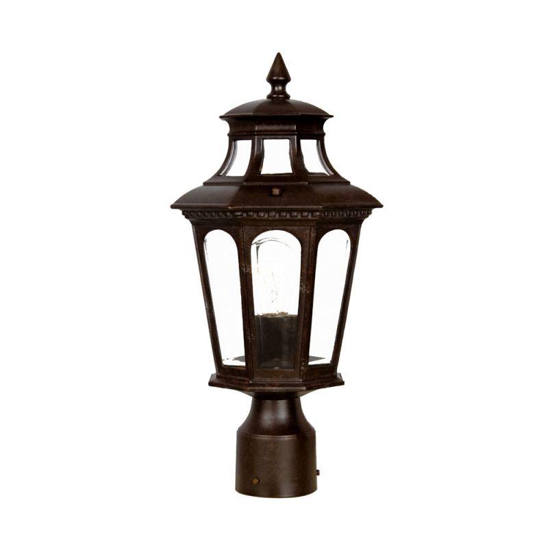 "Acclaim Lighting 9517 Newcastle 1 Light 16.5"" Height Post Light"