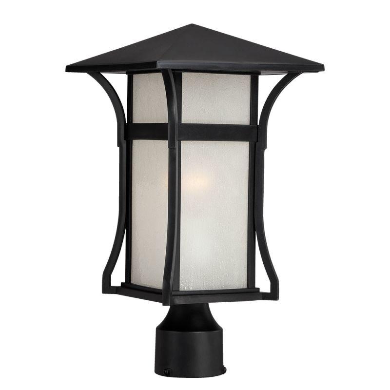 Acclaim Lighting 96027 Tahiti 1 Light Outdoor Post Light Matte Black