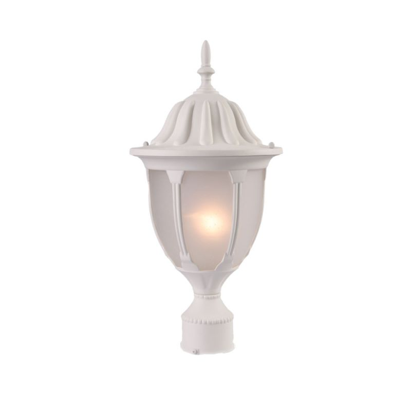Acclaim Lighting 5067 Suffolk 1 Light Post Lamp with Clear Seeded