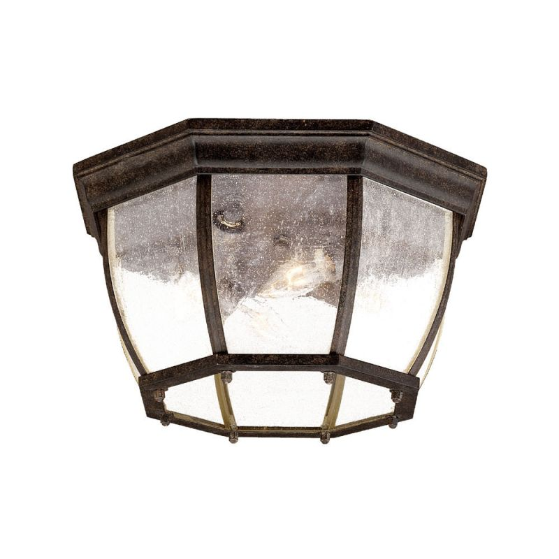 "Acclaim Lighting 5603 4 Light 13"" Width Outdoor Flushmount Ceiling"