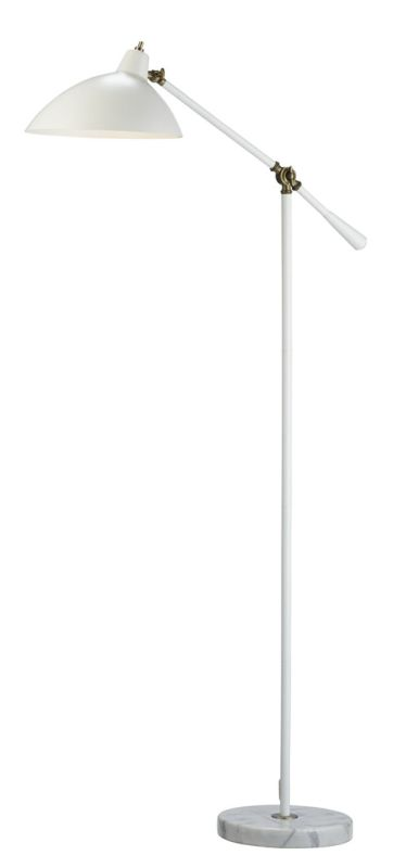 """Adesso 3169 Peggy 1 Light 72.5"""" Tall Boom Arm Floor Lamp with Metal"""