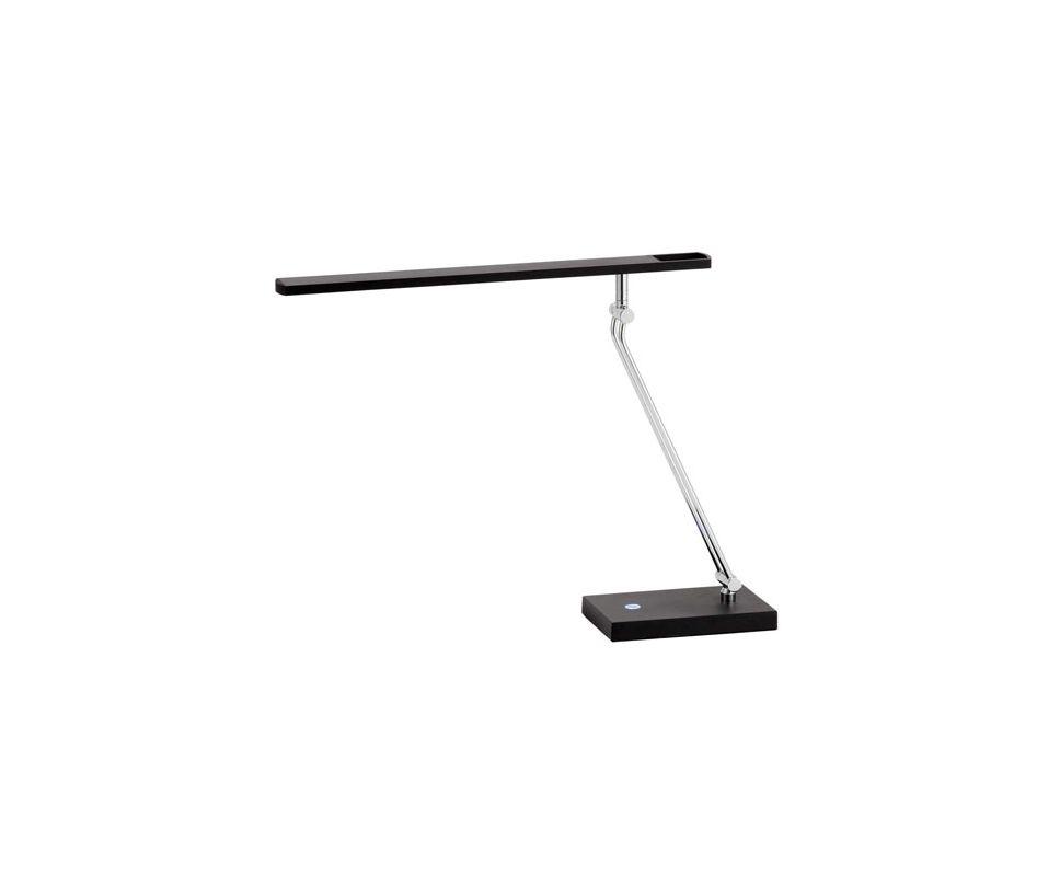 "Adesso 3392 Saber 1 Light 31"" Tall LED Swing Arm Desk Lamp Black Lamps"