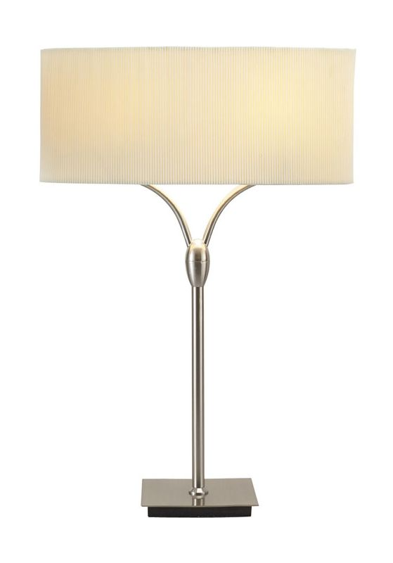 "Adesso 3444 Wishbone 2 Light 78"" Tall Buffet Table Lamp with"